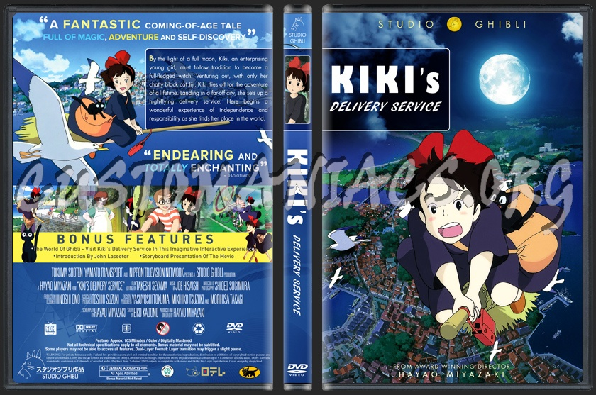 kikis delivery service dvd cover dvd covers amp labels by