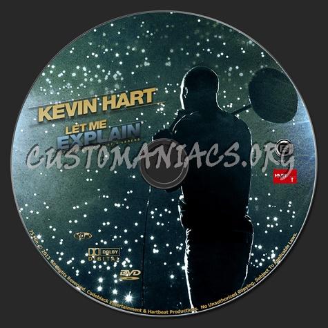 Kevin Hart Let Me Explain dvd label