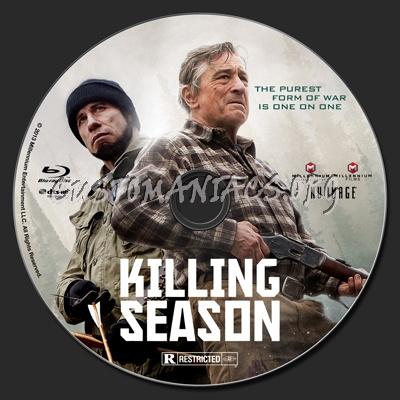 Killing Season blu-ray label