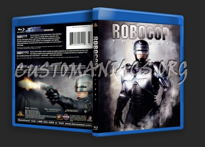 Robocop Trilogy blu-ray cover