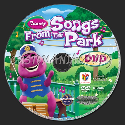 Barney Songs From The Park Dvd Barney Songs From The Park