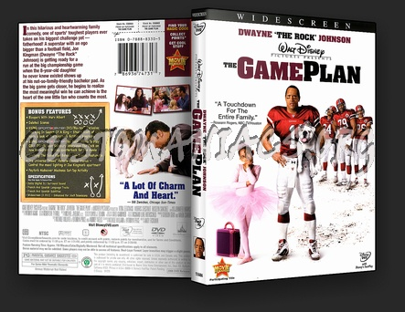 The Game Plan dvd cover