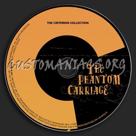 579 - The Phantom Carriage dvd label