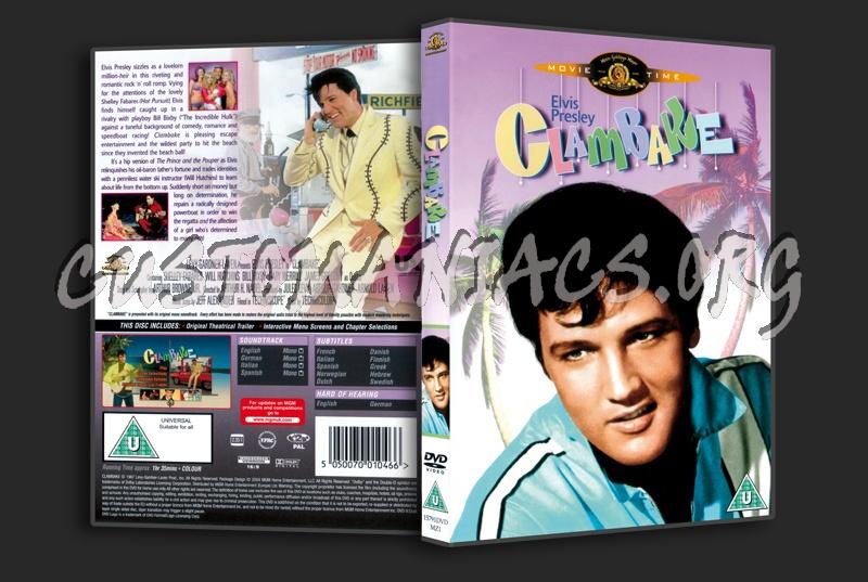 Elvis: Clambake dvd cover