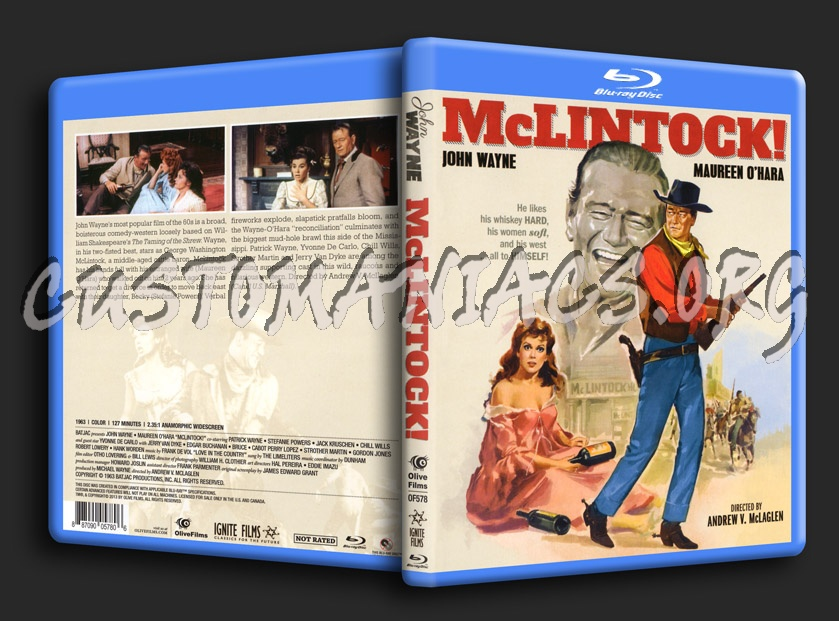 McLintock blu-ray cover