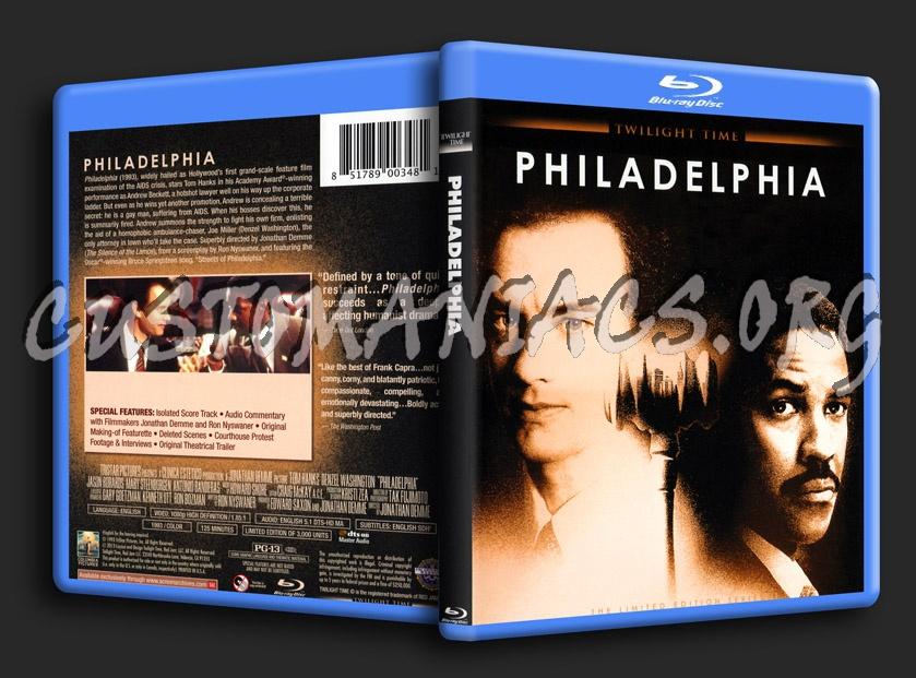 Philadelphia blu-ray cover