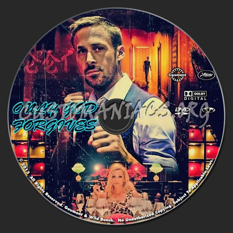 Only God Forgives dvd label