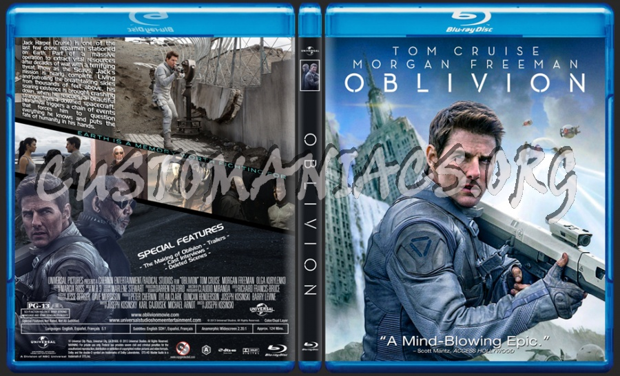 Oblivion blu-ray cover
