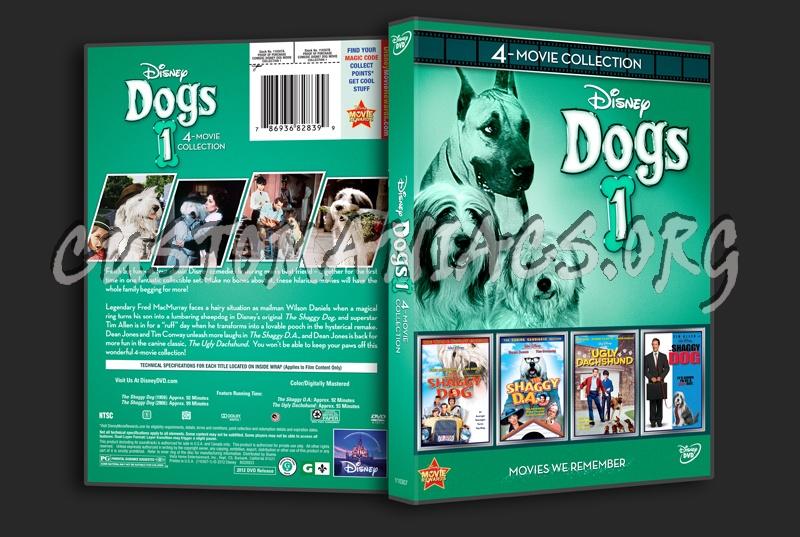 Disney Dogs 1 dvd cover