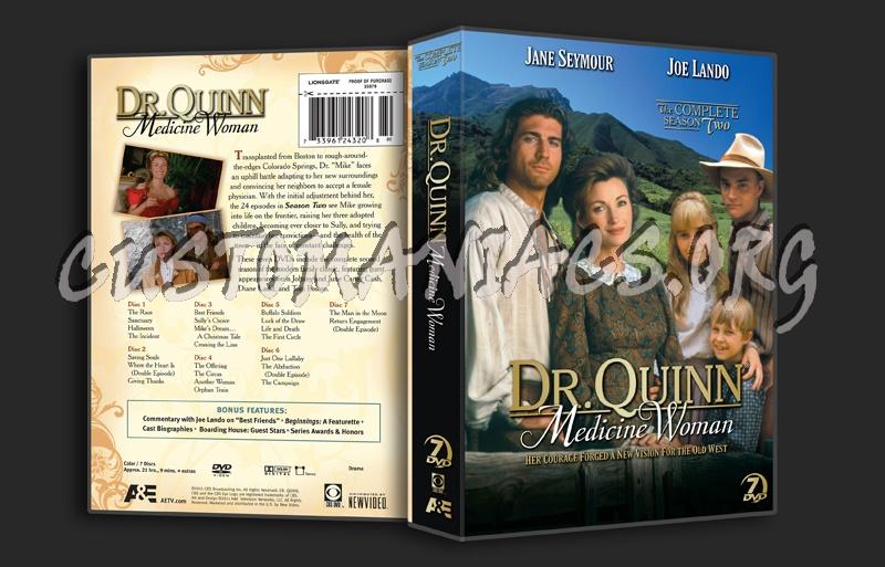 Dr. Quinn Medicine Woman Season 2 dvd cover