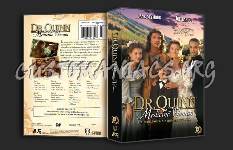 Dr. Quinn Medicine Woman Season 3 dvd cover