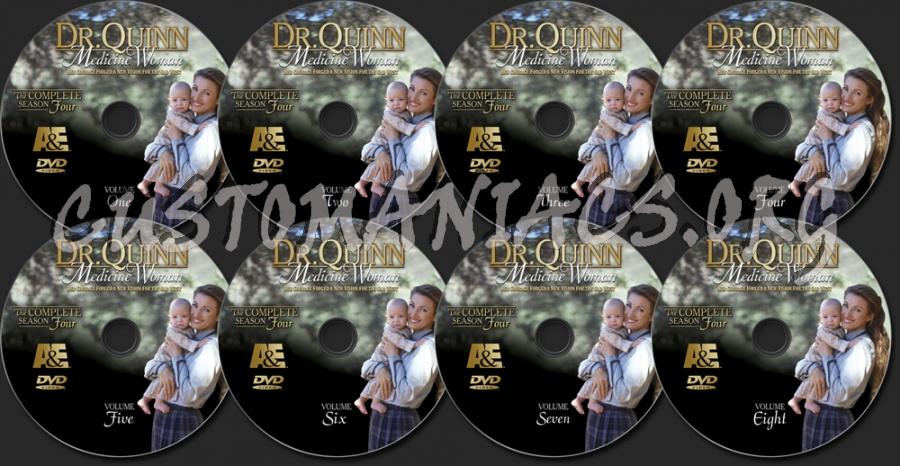 Dr. Quinn Medicine Woman Season 4 dvd label