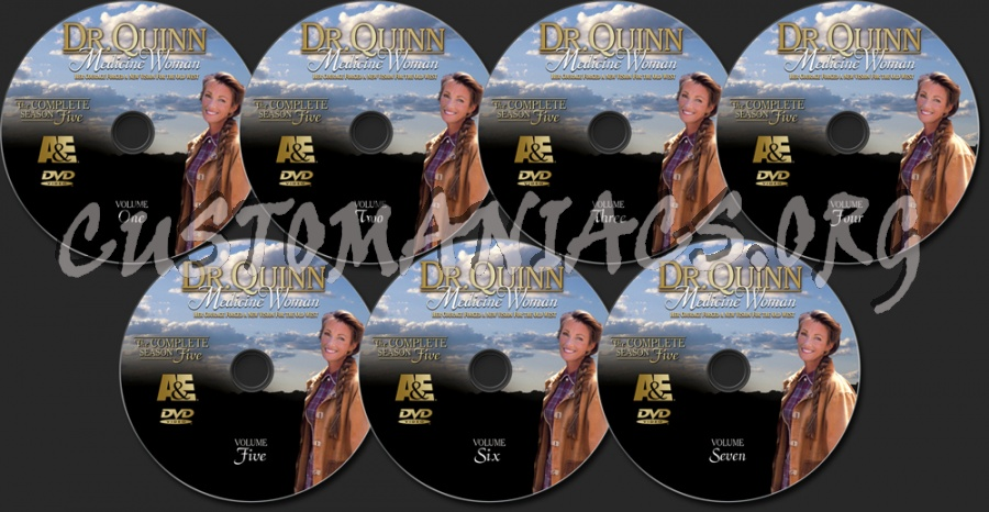 Dr. Quinn Medicine Woman Season 5 dvd label