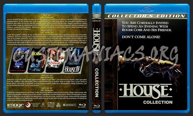 House Collection blu-ray cover