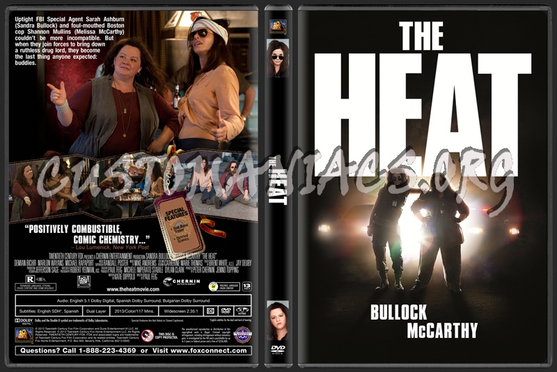 The Heat dvd cover