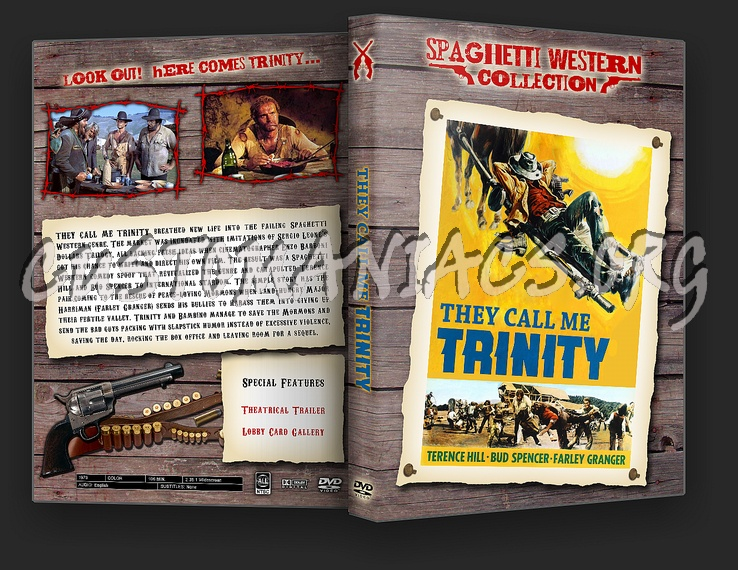 Spaghetti Western Collection - They Call Me Trinity dvd cover