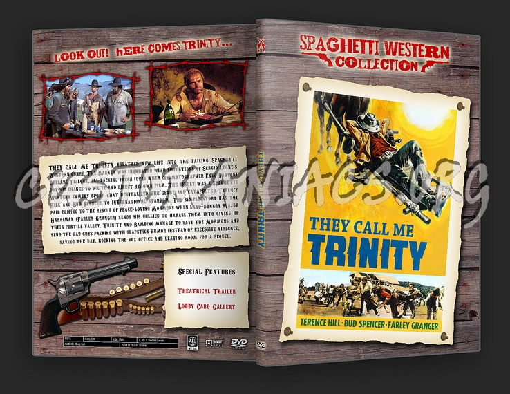 Spaghetti Western Collection - They Call Me Trinity