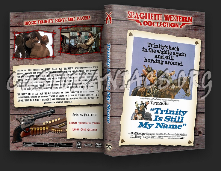 Spaghetti Western Collection - Trinity Is Still My Name dvd cover