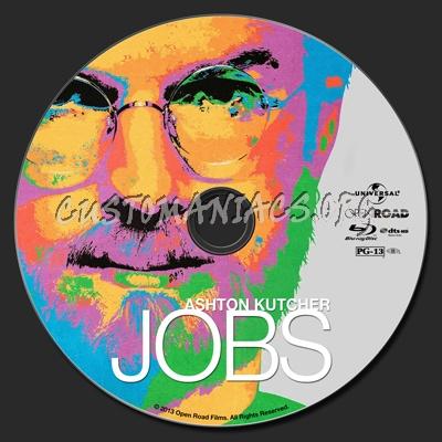 Jobs blu-ray label