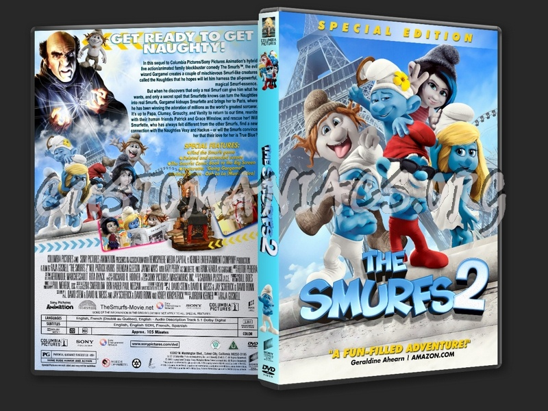 The Smurfs 2 2013 Dvd Cover Dvd Covers Labels By Customaniacs Id 196746 Free Download Highres Dvd Cover