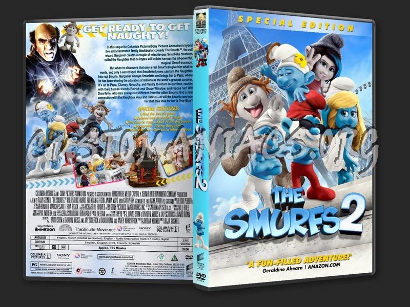 The Smurfs 2 (2013) dvd cover