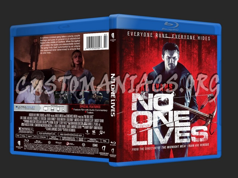 No One Lives blu-ray cover