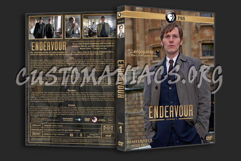 Endeavour - Series 1 dvd cover