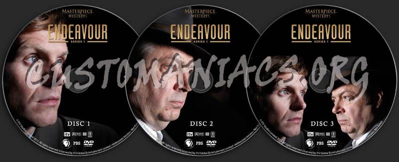 Endeavour - Series 1 dvd label