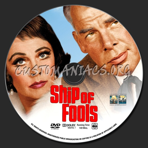 Ship Of Fools dvd label