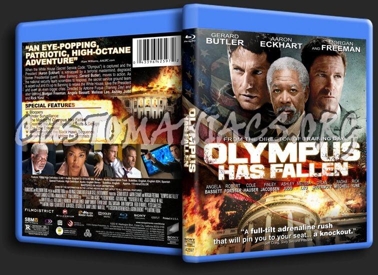 Olympus Has Fallen blu-ray cover