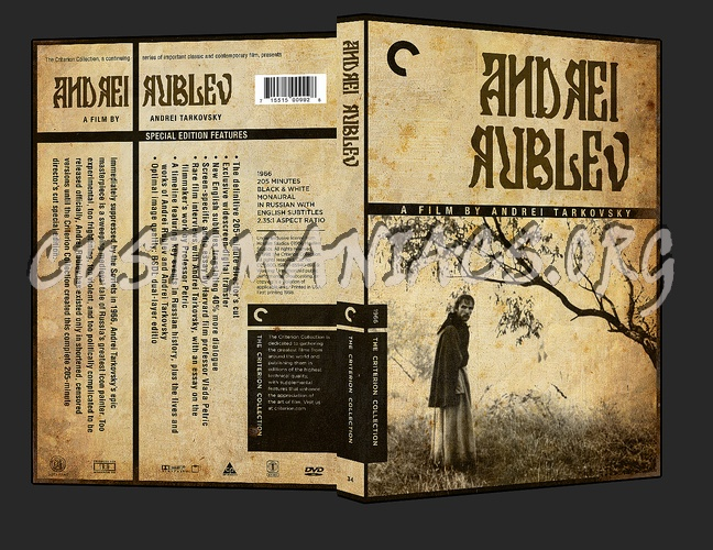 034 - Andrei Rublev dvd cover