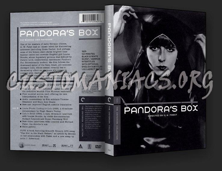 358 - Pandora's Box dvd cover