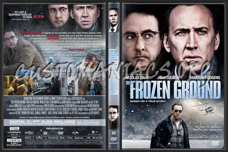 The Frozen Ground dvd cover - DVD Covers & Labels by ...