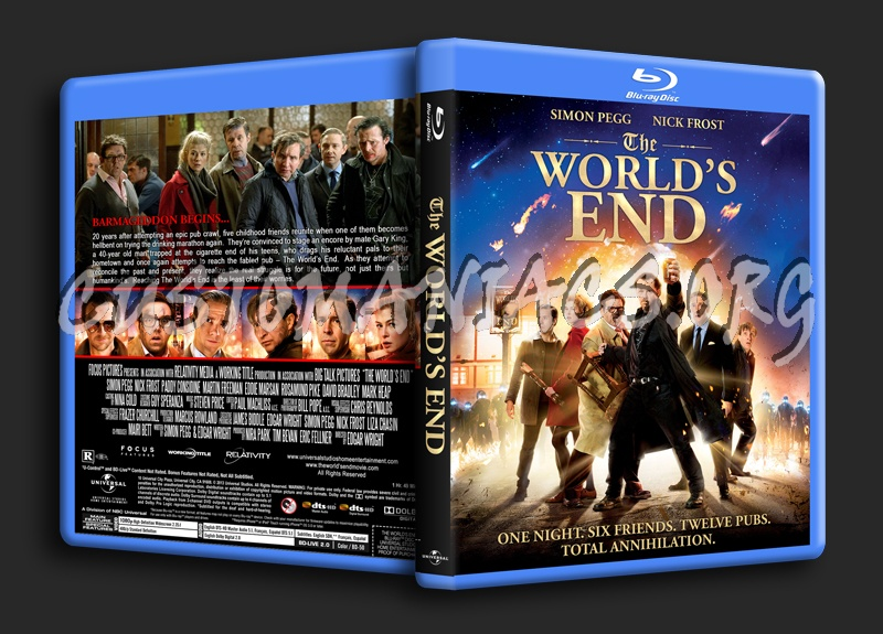 The World's End blu-ray cover