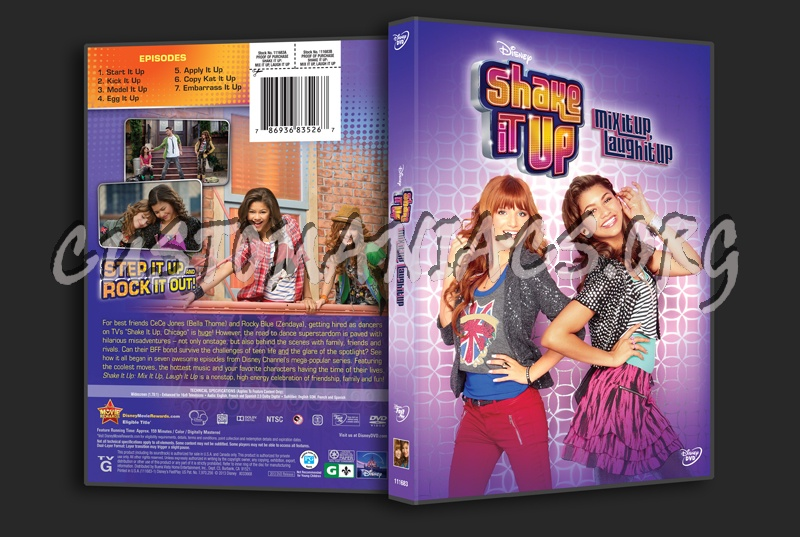 Shake It Up Mix It Up Laugh It Up dvd cover