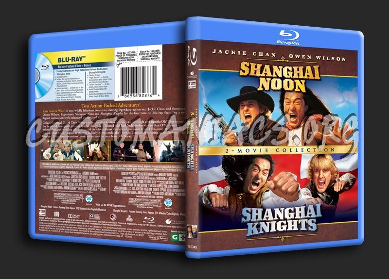 Shanghai Noon / Shanghai Knights blu-ray cover