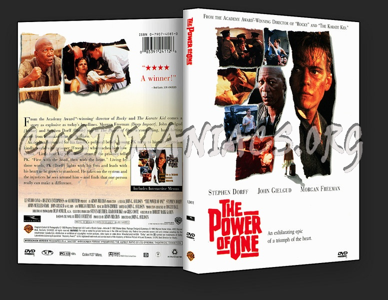 The Power Of One dvd cover