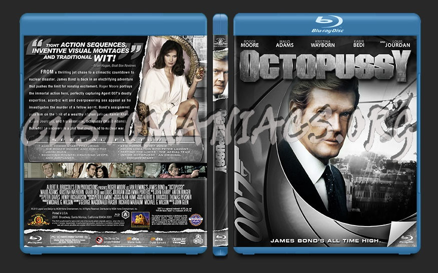 Octopussy blu-ray cover