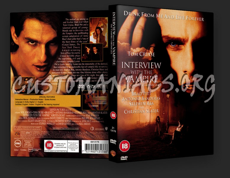 Interview with the Vampire dvd cover