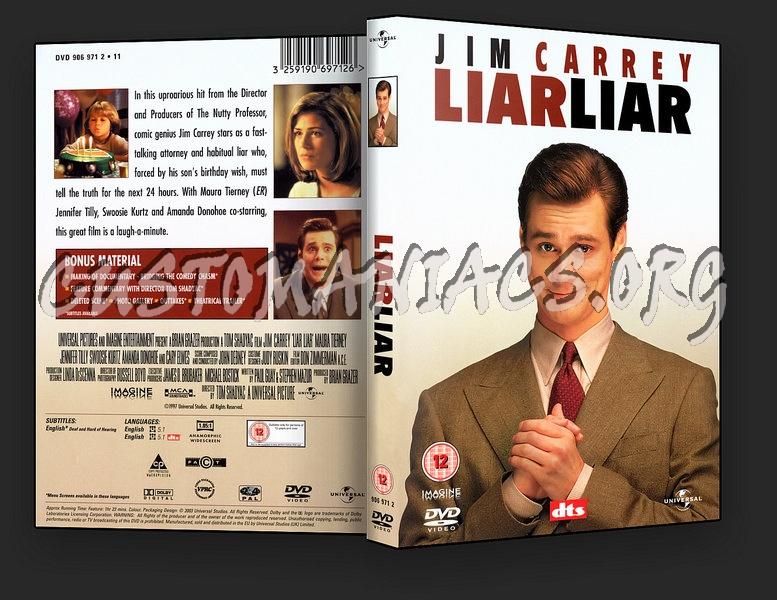 Liar Liar dvd cover