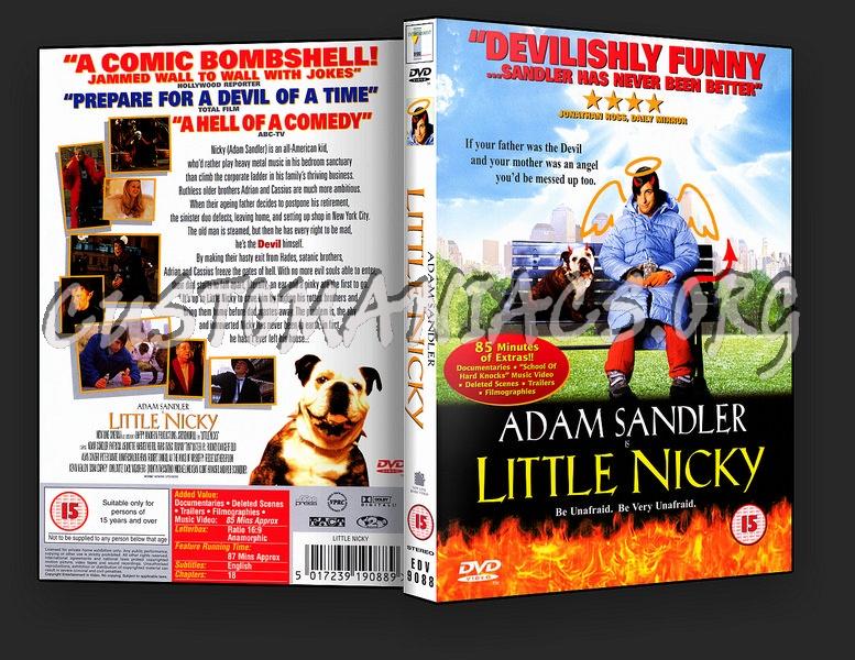 Little Nicky dvd cover