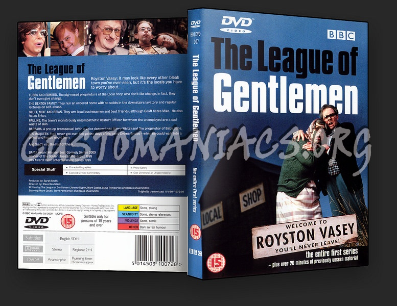 The League of Gentlemen series 1 dvd cover