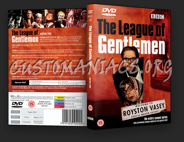 The League of Gentlemen series 2 dvd cover