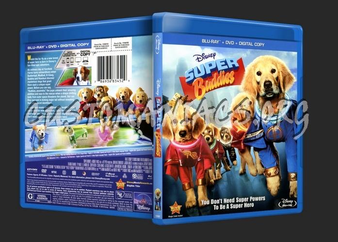 Super Buddies blu-ray cover