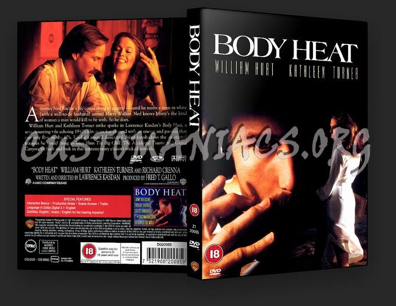 Body Heat dvd cover