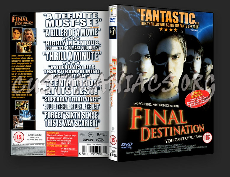 Final Destination dvd cover
