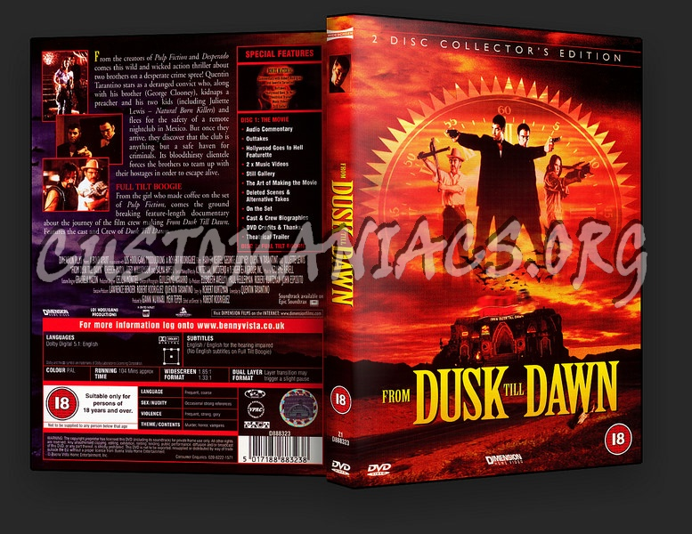 From Dusk Till Dawn dvd cover