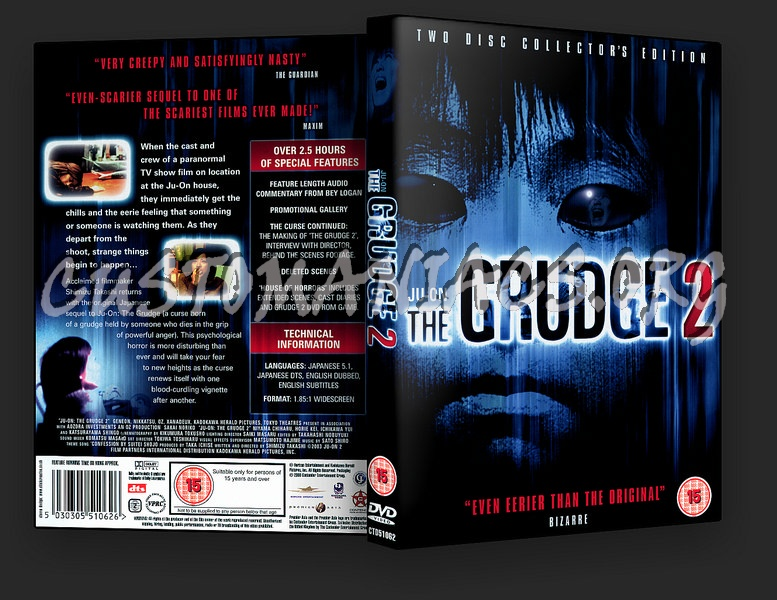Ju-On The Grudge 2 dvd cover