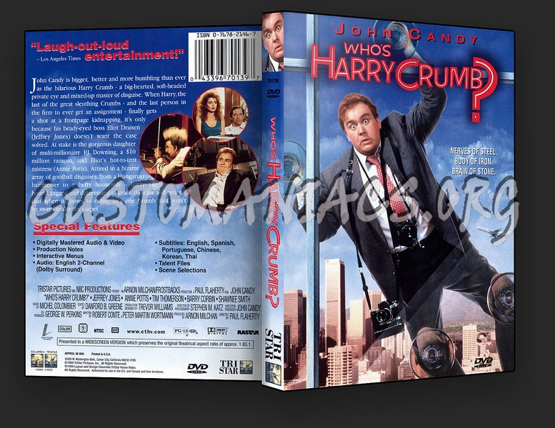 Who's Harry Crumb dvd cover