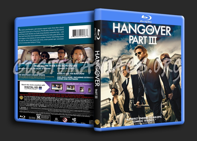 The Hangover Part III blu-ray cover